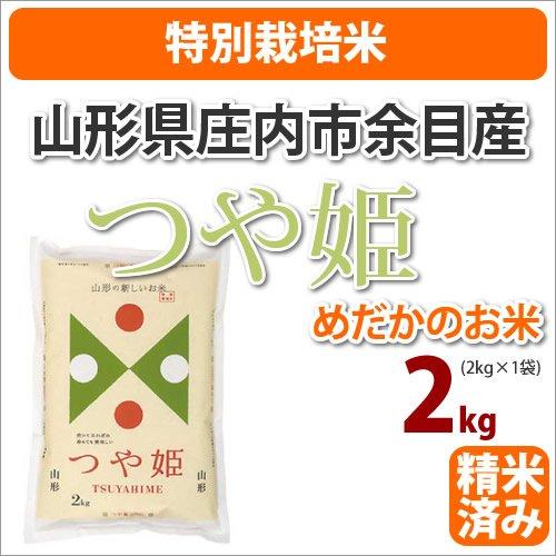≪特別栽培米≫山形県庄内市余目産めだかのお米「つや姫」生産者「米シスト庄内8人衆」2kg