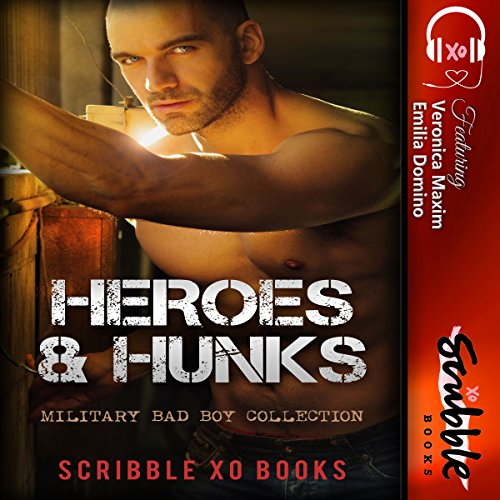 Heroes & Hunks audiobook cover art