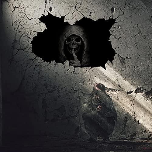 PowerBH Etiqueta de la Pared de Halloween Ghost Wall