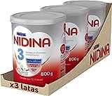 Nidina 3 - Leche de crecimiento a partir de los 12 meses 3x800g