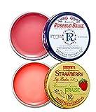 Rosebud Salve Two Pack: Rosebud Salve and Strawberry Lip Balm 2 x 0.8 tins -  Rosebud Perfume Co