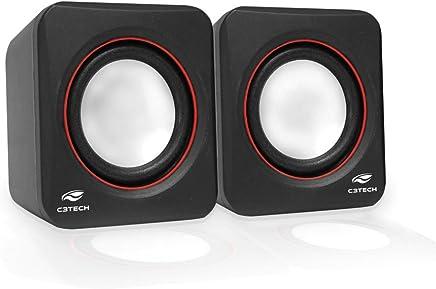 Speaker 2.0 SP-301BK, C3TECH, Altos-Falantes para Computador