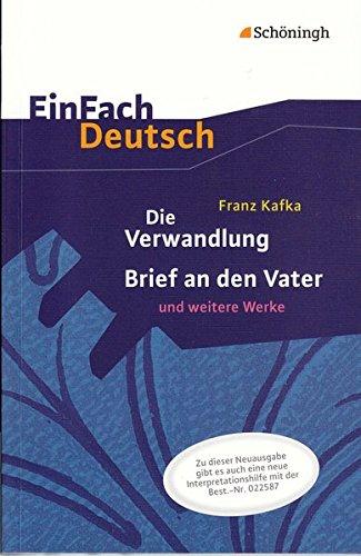 kafka die verwandlung einfach deutsch