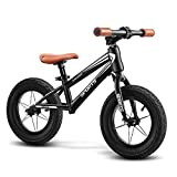 Kinder Laufrad Spielzeug Kleinkind Spielzeug Aluminium Laufrad for Kinder und Kleinkinder - kein...