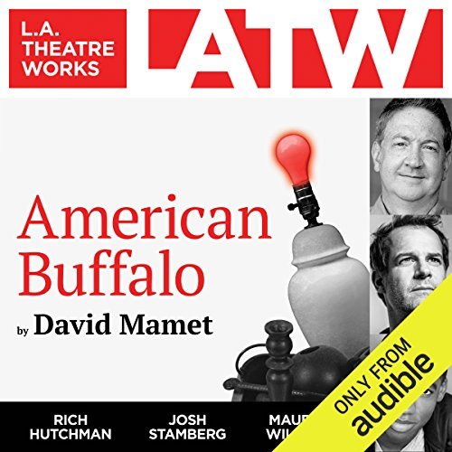 American Buffalo                   De :                                                                                                                                 David Mamet                               Lu par :                                                                                                                                 Rich Hutchman,                                                                                        Josh Stamberg,                                                                                        Maurice Williams                      Durée : 1 h et 14 min     Pas de notations     Global 0,0