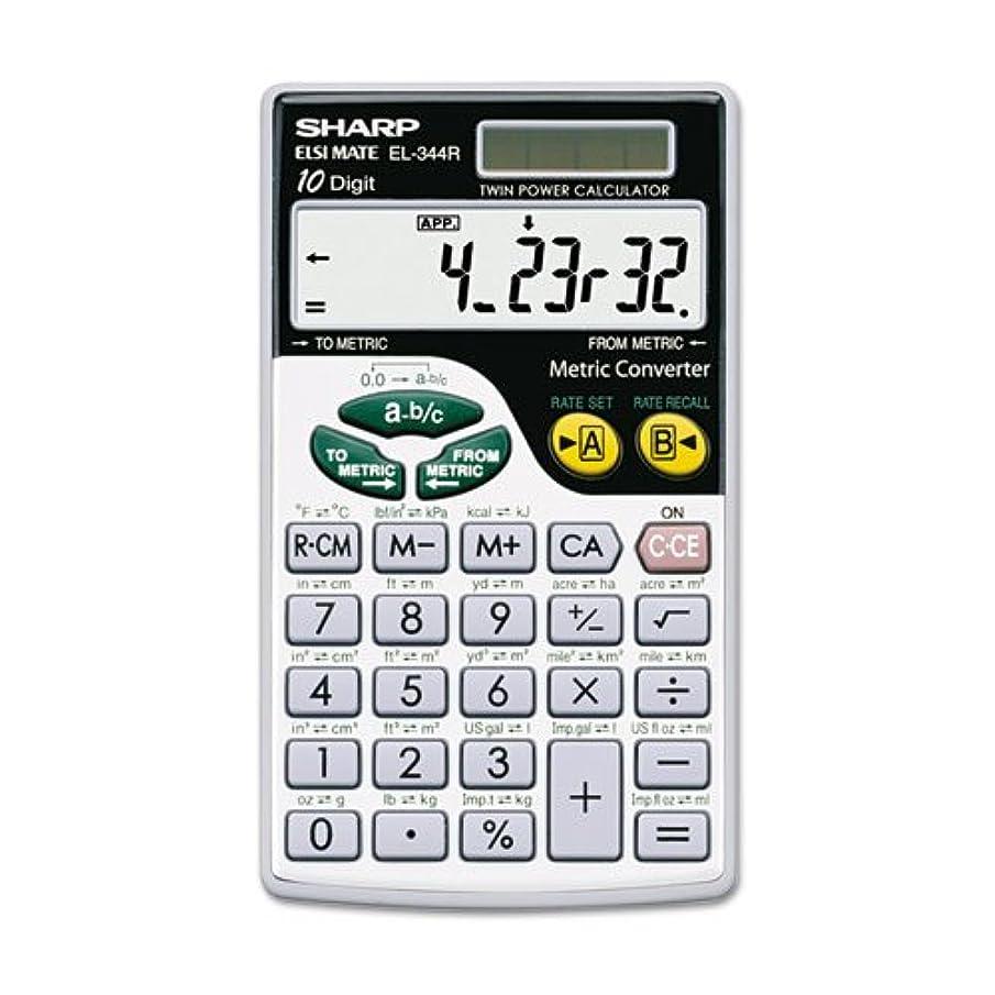 SHREL344RB - EL344RB Metric Conversion Wallet Calculator