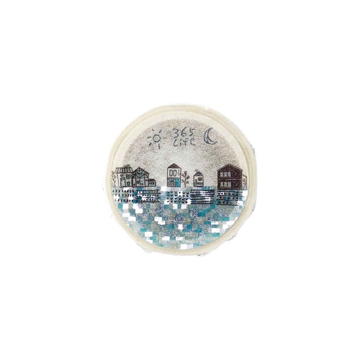 Roundtop Designer's Washi Masking Tape 20mm x 10m, Syoukei, On The Road (MTW-1307-002)