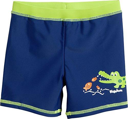 Playshoes Jungen UV-Schutz Short Krokodil Badehose, Blau (Marine 11), 110 (Herstellergröße: 110/116)