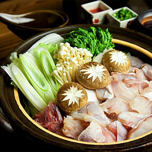 築地魚群 [豊洲市場海鮮鍋セット]長崎産天然クエ鍋セット 冷凍便
