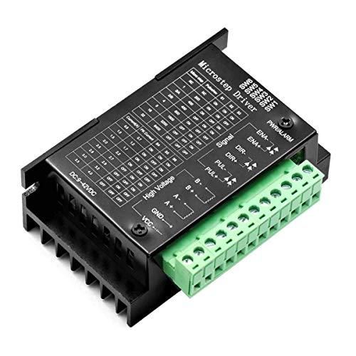 ARCELI TB6600 Controlador de Motor Paso a Paso 32 Segmentos DC 9-40V 4.0A Adecuado 42, 57, 86 Tipo de Motor Paso a Paso trifásico de 2 Fases