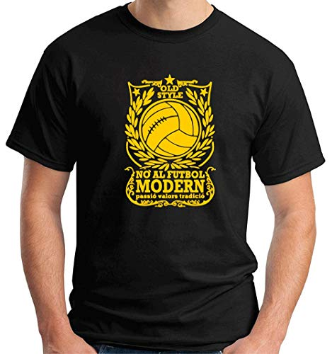 T-Shirt Hombre Negro TUM0208 Against Modern Football