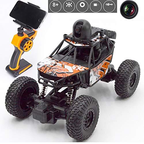 W-star Ferngesteuertes Auto mit Kamera WiFi FPV Fahrzeug 1:22 Lange Laufzeit Outdoor und Indoor Draußen Spiel 2.4 Ghz für Erwachsene und Kinder ab 8 Jahr Support VR RC Geschwindigkeitsauto