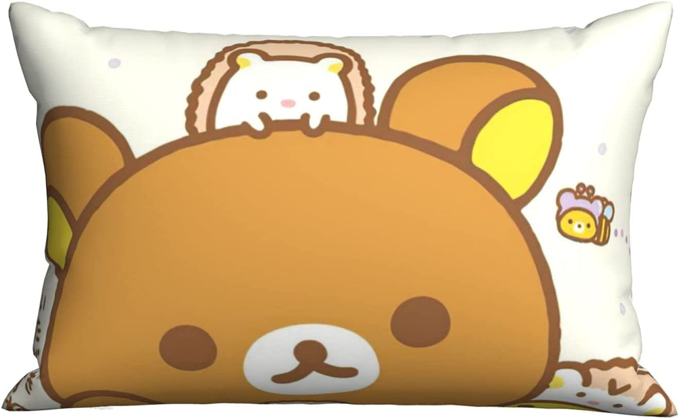 Rilakkuma- Bed Pillows Queen Size 20 30 Luxury C Don't miss the ...