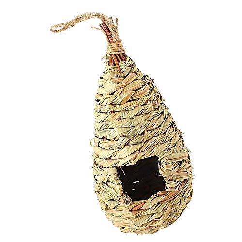 Ogquaton Nid d'oiseau créatif Paille Maison d'oiseau Artificielle nid d'oiseau Ornement de Jardin adapté à Tous Les Oiseaux