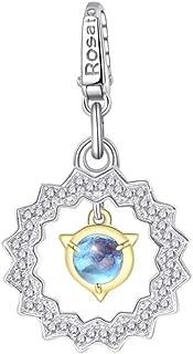 Ciondolo argento ROSATO RDE044 Details