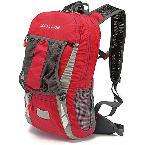LOCAL LION Biking Backpack 20L Cycling Backpack Riding Backpack Bike Rucksack Outdoor Sports Daypack for Running Hiking Camping Travelling Ultralight Men Women