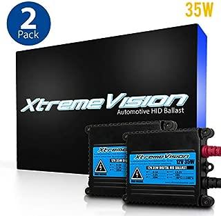 XtremeVision DC 35W HID Xenon Premium Slim Ballast (Pair - 2 PCS) - 2 Year Warranty