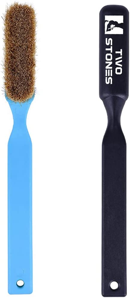 Excellence TWO STONES Time sale Climbing Chalk Brush Boar's Ultra with Thick Durable