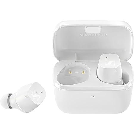 Sennheiser ゼンハイザー Bluetooth 完全ワイヤレスイヤホン CX True Wireless WHITE, ドイツ本社開発7mmドライバー、 左右独立使用可、 IPX4、通話、Bluetooth 5.2対応 Class1、最大9+18時間再生、aptX 【国内正規品】