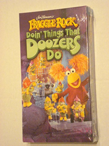 Fraggle Rock - Doin' Things That Doozers Do [VHS]