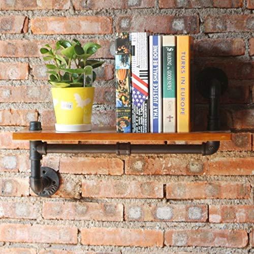 Kejing Miao11 Amerikanischen Stil Retro Sanitär Industrie Wind Mono Wand Trennwände Kreative Massivholz Rack Wandregal Bookholders/Racks