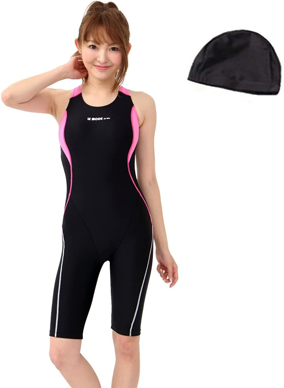 C140 lemode (Rumodo) made in Japan fitness swimsuit Ladies (Cherry Pink 13L)