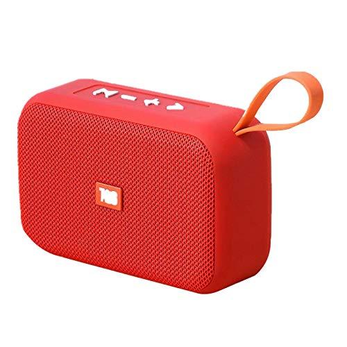 Altavoces Altavoz Bluetooth portátil Barra de Sonido inalámbrica al Aire Libre HiFi subwoofer Soporte TF Tarjeta FM Radio Aux Red