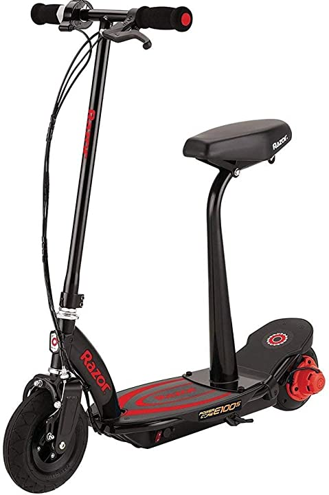 Scooter elettrico monopattino elettrico power core e100s rosso con sellino monopattino elettrico razor 13173860