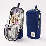 Oyachic Estuche Escolar Pequeña Pencil Case Bolsa para Lapices Pen Phone Stand Holder Estudiante Plumier Colegio Kawaii...