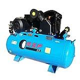 RSF EQUIPMENT, compresseur d'air de piston avec décharge de 200 litres. Référence CP5.5CV.