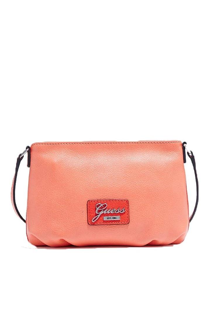 断言するアルミニウム八Guess ' Gladys 'ツートンカラー斜め掛けバッグ、グレープフルーツマルチ