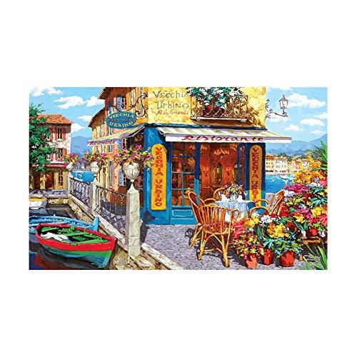 1000 stks/set puzzel landschap patroon klassieke diy landschap serie puzzel decompressie speelgoed voor kinderen volwassenen