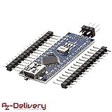 AZDelivery Nano V3 con Chip FTDI y Atmega328 CH340 compatible con Arduino y con E-book incluido!