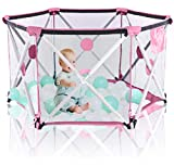 Hapsters Pop Up and Play Baby Playpen for Baby - Foldable and Portable