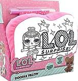 L.O.L. Surprise ! Cuscini Bambini Decora Il Tuo Cuscino Bambole LOL Confetti Pop Cuscino Piccolo Lavabile attività Creativa per Bambine