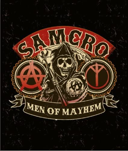 Sons of Max 71% OFF Anarchy Luxury Blanket-Samcro-Men Free shipping on posting reviews Plush Raschel Throw