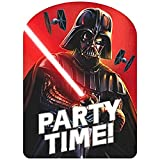 amscan 490156 Premium Darth Vader Invitations with Envelopes | 8 ct. | Party Supply, Multicolor