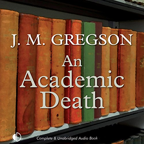 An Academic Death audiobook cover art
