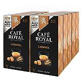 Café Royal flavo ured Caramel, Café, Café, Cápsulas de Café Tostado, compatible con Nespresso, 100Cápsulas