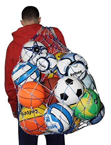 Softee Equipment 0004117 Porta Balones, Unisex, Blanco, S