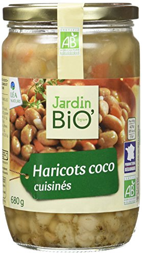 Jardin Bio Haricots Coco Cuisinés 680 g