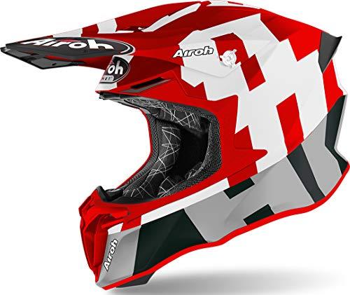 CASCO AIROH TWIST 2.0 FRAME RED MATT L