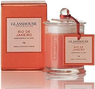 グラスハウス-GLASSHOUSE- キャンドル アロマキャンドルラージ#リオデジャネイロ 350g [並行輸入品]