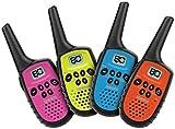 Uniden - UH35-4 - 80 Channel Mini Compact UHF Handheld Radios - Quad