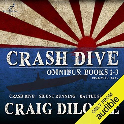 Crash Dive, Omnibus: Books 1-3 Titelbild