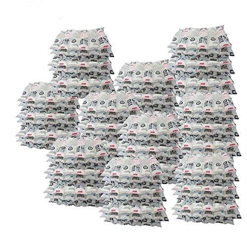 WORLD-BIO Paletas de Hielo Reutilizables avanzadas: Flexibles, no viscosas. Refrigerador Extremo para IR de excursión Camping Outdoor Food e (12 CÉLULAS 100 Hojas)