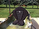 KERCO Angler-x Adjustable Sit on Top Kayak Seat w/Back Pack Extra Thick Seat Pad