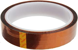 Foxnovo High Temperature Heat Resistant Tape Polyimide Film Adhesive Tape (20mm33m)