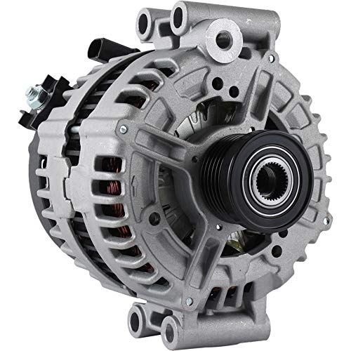 New Alternator For BMW 128 Series 3.0 3.0L (07 08 09 10 11 12 13) 323 Series 328 Series 528 X3 (0-121-715-012, 0-121-715-112) 12-31-7-550-968 ABO0391 (IR/IF 12-V 180 Amp)
