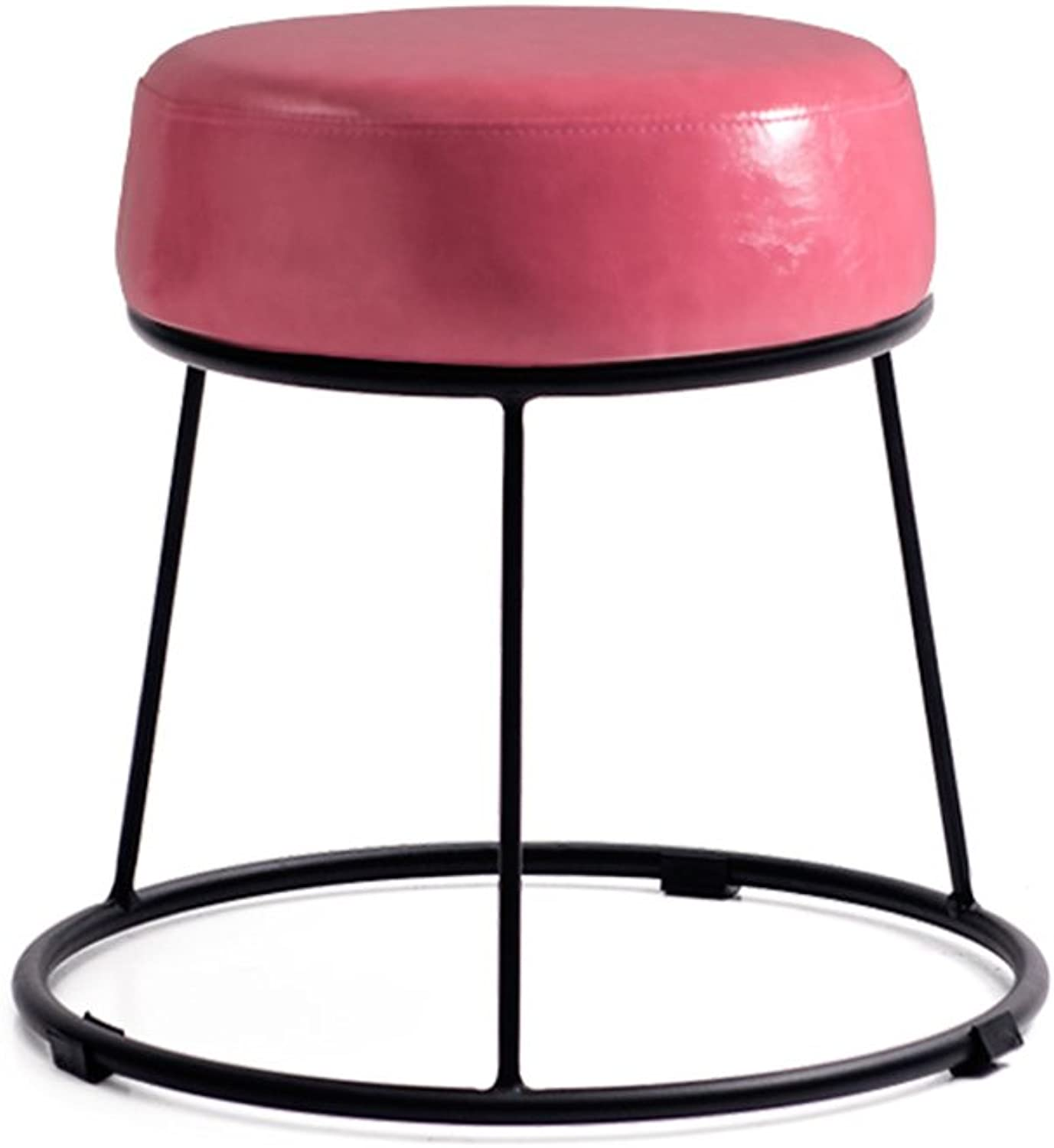 LHA Barstools Suitable for shoes Benches, Household Stools, Coffee Table Stools, Decorative Stools, Multicolor Bar Furniture (color   F)